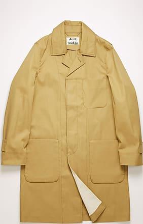 Acne Studios FN-MN-OUTW000269 Mushroom beige Twill trench coat