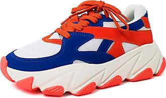 Damannu Shoes Tênis Chunky Sneaker Suellen - Cor: Laranja - Tamanho: 38