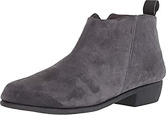f9fb6816b1b32 Aerosoles Womens Step IT UP Ankle Boot, Dark Gray Suede, 6 M US