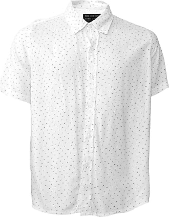 Zune Jeans Camisa Zune Reta Estampada Off-White