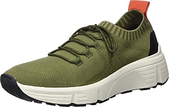 Vagabond Mens Quincy Slip On Trainers, Green (Olive 54), 6.5 UK