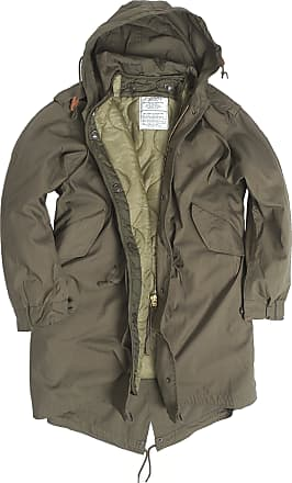 Mil-Tec US Army Olive Drab M51 Fishtail Winter Shell Hooded Parka Jacket with Liner (XX-Small)