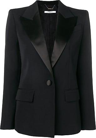 Givenchy Blazer com ombros estruturados - Preto
