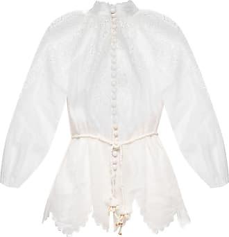 Zimmermann Openwork Shirt Womens White