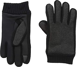 Kenneth Cole Reaction Mens Touchscreen Warm Winter Gloves, charcoal Medium