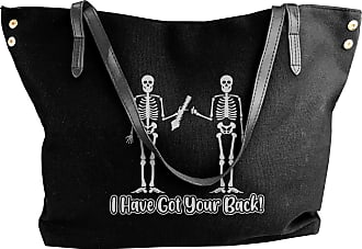 Juju I Have Got Your Back Womens Classic Shoulder Portable Big Tote Handbag Work Canvas Bags