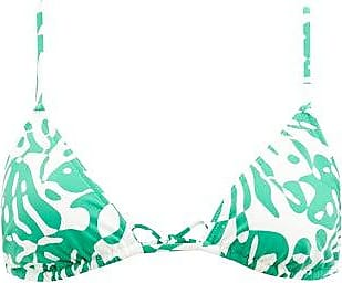 Eres Starfish Coralsand-print Triangle Bikini - Womens - Green White