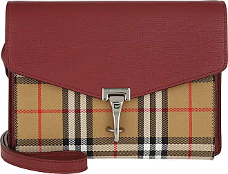 34a60fcfa597c Burberry Macken Crossbody Bag Crimson Umhängetasche rot