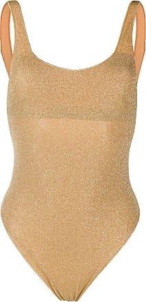 Oséree Lumière Sporty Maillot swimsuit - Dourado