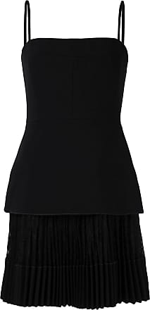 Dion Lee pleated mini dress - Black