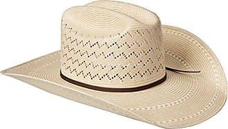 Ariat Mens 20x Cheveron Double S Cowboy Hat, Natural, 6 7/8