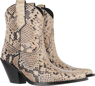 Toral Shoes Boots & Booties - Cowboy Ankle Boots Pyton Beige - beige - Boots & Booties for ladies