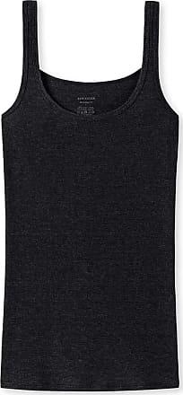 Schiesser Womens Personal Fit Trägertop Undershirt, Black (Black 000), 3 UK