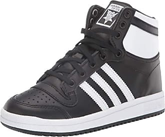 adidas Youth Campus Suede Synthetic Core Black White Trainers 5 US
