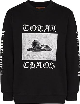 Vyner Articles Moletom com estampa Total Chaos - Preto