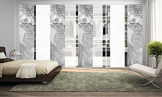 Home Wohnideen Schiebevorhang Wallona (8-teilig)