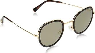 Vince Camuto Womens Vc837 Ts Non-polarized Iridium Oval Sunglasses, Gold, 50 mm
