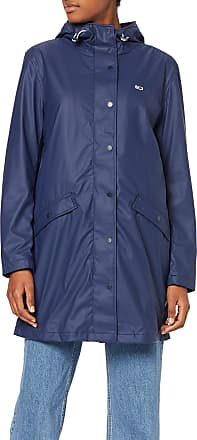 Tommy Jeans Womens TJW RAIN JACKET, Blau (Black Iris 002), M