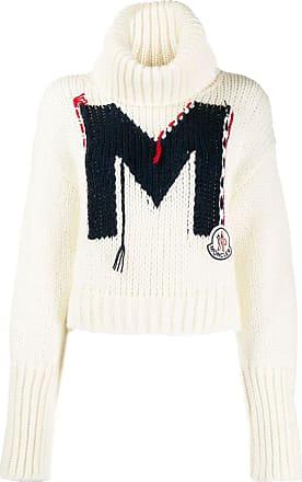 Moncler Suéter com logo - Branco