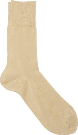 Falke Tiago Cotton-blend Socks - Mens - Camel