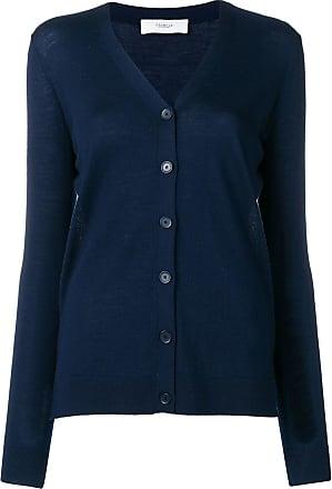 Pringle Of Scotland Cardigan de tricô com abotoamento - Azul