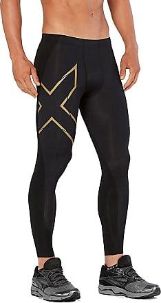 2XU MCS X-Fit Compression Tights - Medium - Long Leg Black