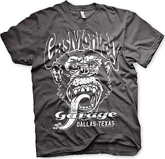 Gas Monkey Garage Official T Shirt GMG Hot Rod Dallas Texas Grey XXL