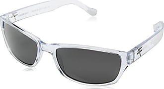 809062c9c3e Fatheadz Eyewear Mens Shue V2.0 Polarized Rectangular Sunglasses Clear 40 mm