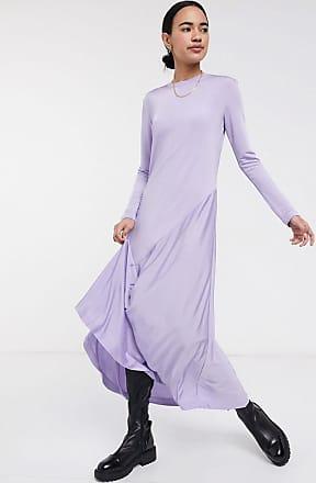 Weekday Karen - Lavendelfarbenes Kleid-Violett