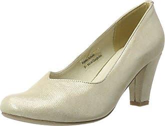 f18058fa Andrea Conti 1003464, Zapatos de tacón con Punta Cerrada para Mujer, Beige  (Champagner