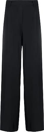 Blumarine Calça pantalona cintura alta - Preto