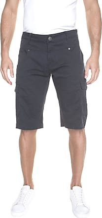 883 Police Mens Shorts Seattle Cotton Navy Jogger Shorts (36)