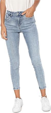 Vero Moda Calça Jeans Vero Moda Skinny Estonada Azul