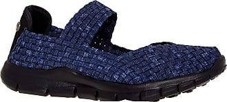 bernie mev. Womens Champion Slip-on casual Shoe (39 M EU, Jeans)