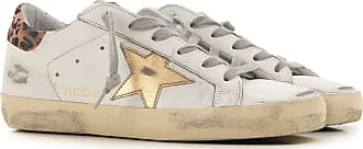Golden Goose Sneakers for Women On Sale, White, Leather, 2019, 10 5 6 7 8