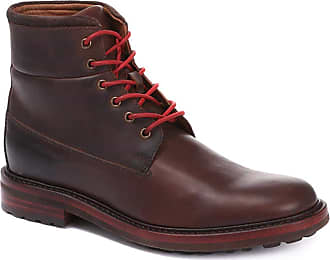 Jones Bootmaker Russell Lace-Up Leather Hiker Boots 316 824 - Brown Size 9 (43)