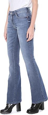 Ellus Calça Jeans Ellus Flare Elastic Azul