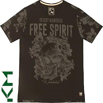 KOHMAR Camiseta Manga Curta Free Spirit Masculina Kohmar- Preto