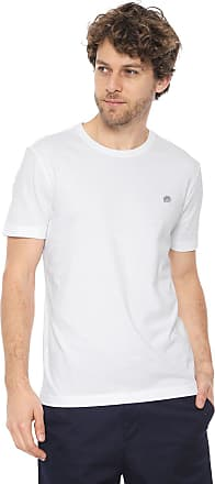 Banana Republic Camiseta Banana Republic Soft Wash Crew Neck T-Shirt Branca