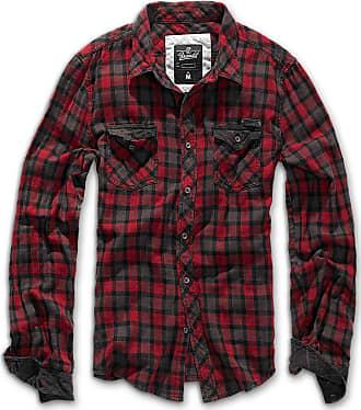 Brandit Duncan Shirt red-brown XXL