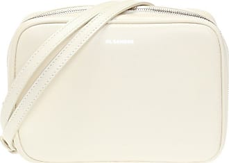 Jil Sander J-Vision Shoulder Bag Womens Cream