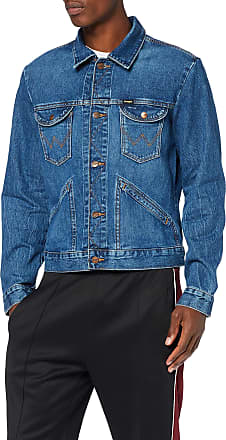 Wrangler Mens Icons Jeans Jeansjacke, Blue (3 Years 925), XXX-Large
