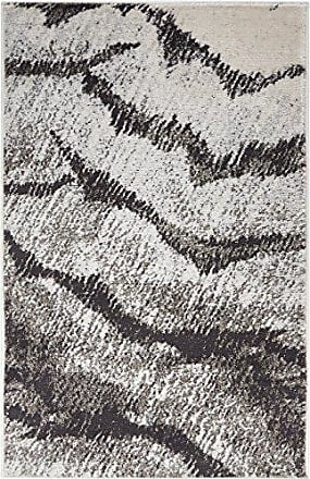 Well Woven HU-72-3 Hughes Felize Modern Distressed Abstract Grey Area Rug 23 x 311 Doormat