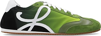 Loewe Sneakers With Logo Mens Green