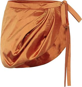Y / Project Silk-shantung miniskirt