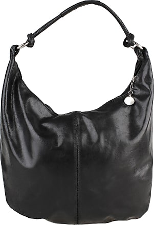 Chicca Borse Woman Shoulder Bag with Large Handle in Genuine Leather Leather Made in Italy Chicca Borse 45x35x4 Cm