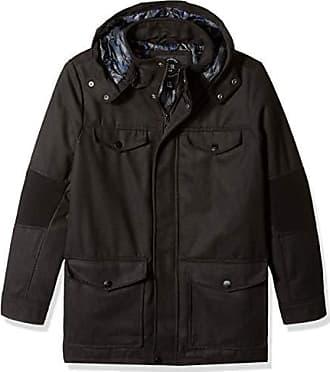 Urban Republic Mens Wool Ackets, Black, XL