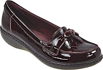 Clarks Leather Slip On Shoes: Must Haves on Sale up to −83