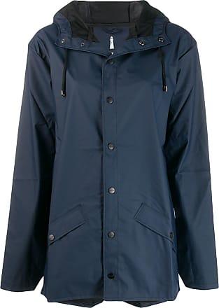 Rains short raincoat - Blue