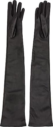 Yang Li long embellished gloves - Preto